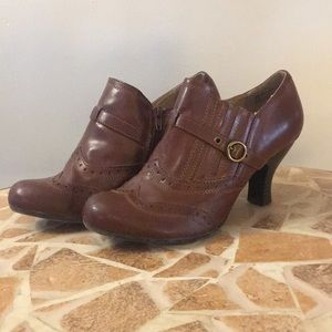 BASS Brown Ankle Booties Sz. 8.5